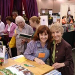 At the Southeastern Flower Show. Thank You Eagle Eye Books and LindaLee