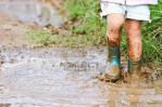 Celebrating the Beauty of Mud Puddles